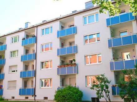 IW | Helle, gepflegte 3-Zimmer-Wohnung mit sonnigem Westbalkon
