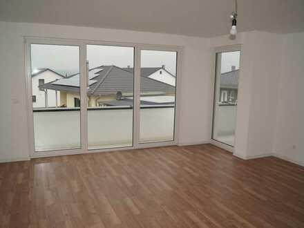 Neubau: 3-Zimmer-Erdgeschosswhg. m. Balkon u. Terrasse + überdachter Stellplatz / Brandhölzle 2
