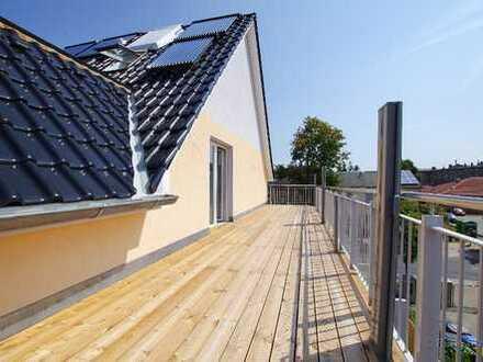 Erstbezug Dachgeschoss Maisonette mit exklusiver Ausstattung in zentraler Wohnlage