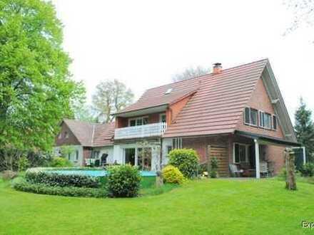 ***STEGEHUIS GMBH*** ***Freistehendes Landhaus mit ganz viel Wohngenuss und einen schönen parkähnlic