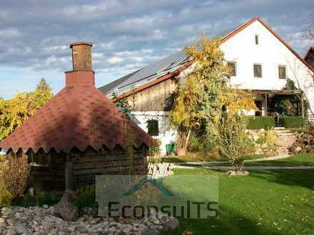 Solitäres Bauernhaus mit Scheune, Sauna - TOP gepflegtes Arial