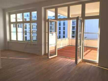 NEU! Direkt im Zentrum - 117 m² - 3 Räume - exklusiver Erstbezug nach Sanierung