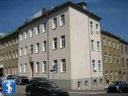 vermietete kleine 1-Zimmer-ETW im EG in Plauen (Zentrum)