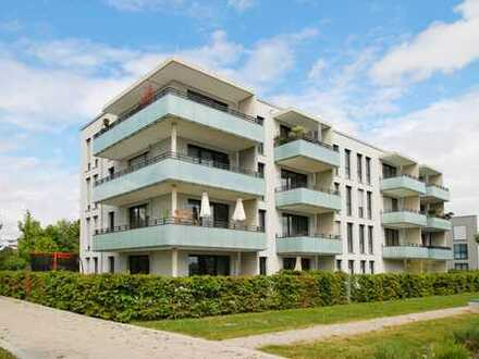 Kurzfristig beziehbar - Sonnige 3-Zimmerwohnung mit Privatgarten, Einbauküche und 2 Bädern