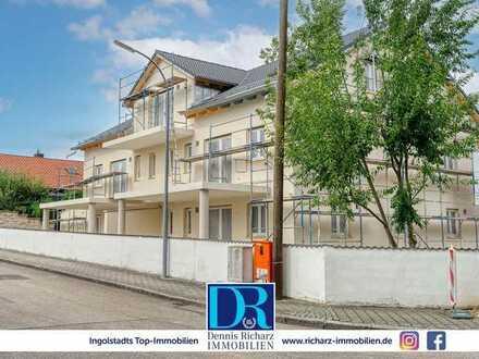 Neubau! Weitläufige 3-Zimmer-Erdgeschosswohnung in sehr ruhiger Lage in Etting inkl. EBK