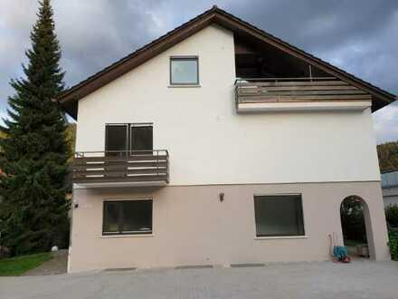 Stilvolles 1-Zimmer-Appartement mit EBK und Balkon in Bad Liebenzell für Pendler oder Studenten
