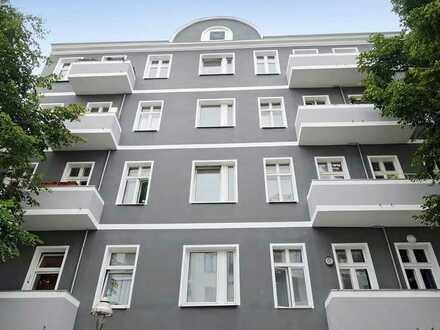 Sanierte 1 Zimmerwohnung im Quergebäude
