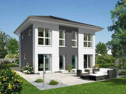 Perfektes Wohngefühl: Modernes EFH im KfW 55 Effizienzstandard