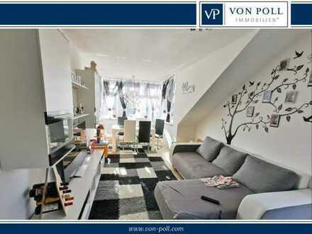 Gut geschnittene 3-Zimmer-Dachgeschosswohnung in Mitterwöhr!
