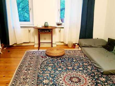 Quiet furnished room in cozy shared flat near Treptower Park