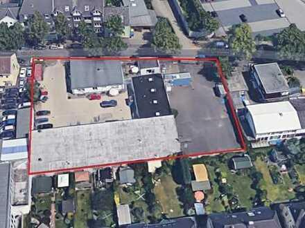 Gewerbeimmobilie auf Erbpachtgrundstück! Hallen und Bürogebäude!