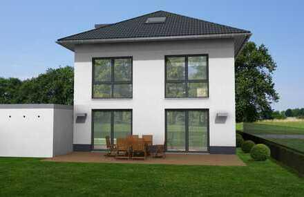 Hülser Bruch - Schlüsselfertige Stadtvilla-190m2/Neubau mit großem Süd-Grundstück (frei Planbar)