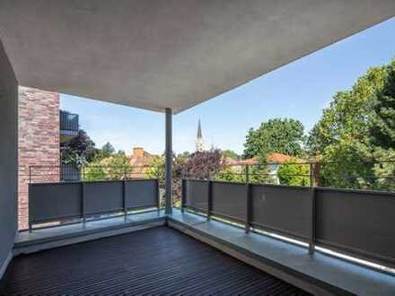 Zum Träumen! 125m² - 4 Zimmer-Neubauwohnung mit Loggia u. Gaskamin mitten im Kreuzviertel