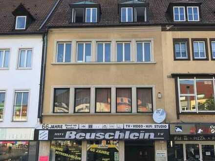 Attraktives Wohn- und Geschäftshaus mit 163m² Wfl. ,394m² Gew.-Fl. und 229m² Nfl. in TOP Lage von SW