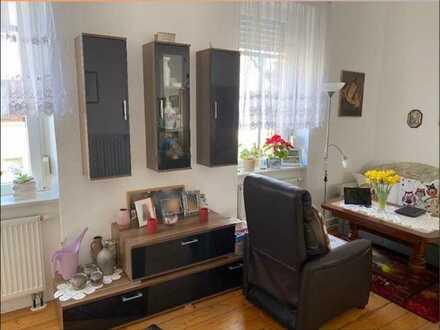 Schöne 1,5 Zimmer-Wohnung.zur Untermiete in Heidesheim für ältere Dame