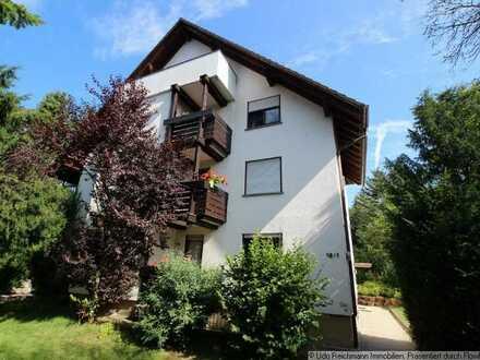 Gepflegte 2,5 Zimmer-Wohnung mit Balkon in stadtnaher Lage von Bad Dürrheim