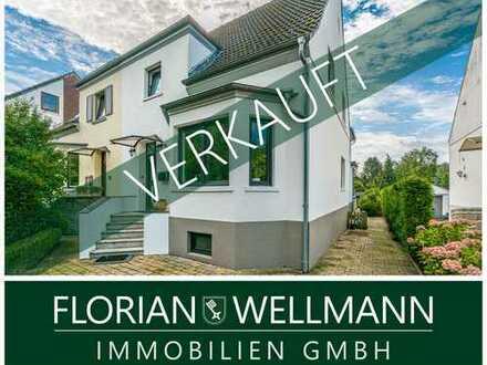 Bremen - Habenhausen | Attraktive Doppelhaushälfte mit Kamin, großem Garten und Pool nahe Werdersee