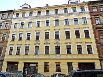 Singlewohnung im EG mit Balkon -Toplage in der Südvorstadt - FICHTESTRASSE 16