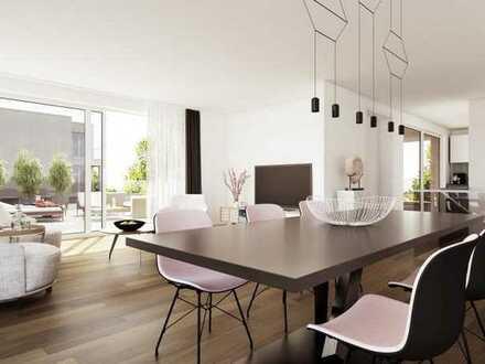 4-Zi-Whg Neubau mit grandioser Küche und verglaster Loggia