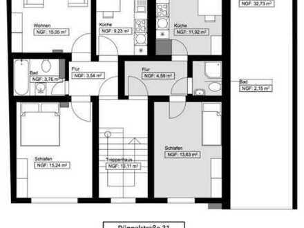 Neu Renovierte 2 Zimmer Wohnung Nähe HBF
