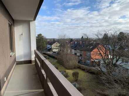 KNIPFER IMMOBILIEN - Helle und großzügige  2-ZKB Wohnung mit TG-Box in Augsburg-Hochzoll zum Kauf