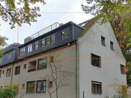 Bezugsfreie Eigentumswohnung auf 2 Wohnebenen mit 3 Bädern, 2 Terrassen und Südbalkon