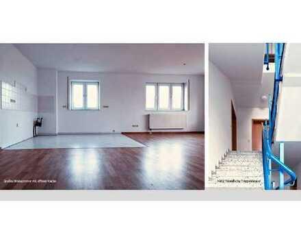 Schöne 2 Zimmer-Wohnung in idyllischer Lage am Leipziger Stadtrand