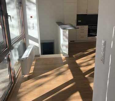 Renovierte 2-Zimmer-Wohnung mit Terrasse und Gartenmitbenutzung
