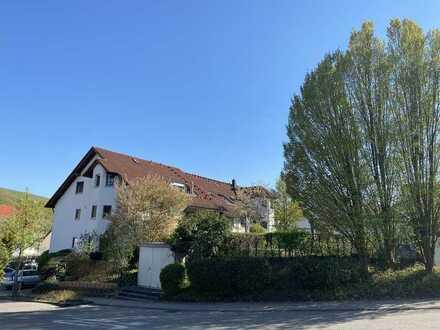 3,5 Zi Wohnung über den Dächern von Erlenbach in Aussichtslage