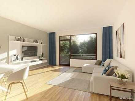 Schöne 2-Zimmer-Wohnung mit großem Süd-Balkon