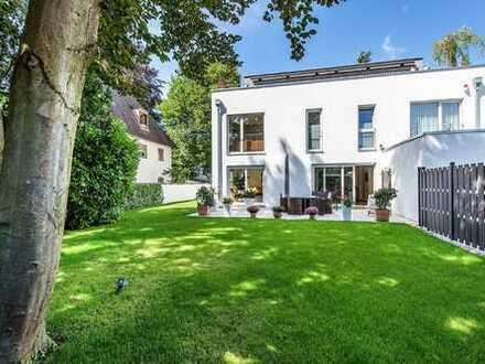 Neuwertiges Townhouse mit großem Garten in München, Obermenzing