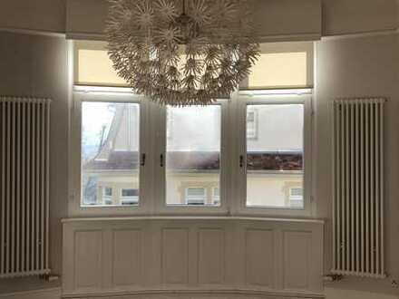 luxuriöse 5-Zimmer-Altbau-Wohnung im Rodgebiet
