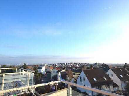 Helle 3-Zimmer-Wohnung mit Skylineblick in ruhiger Lage in Bad Soden/Neuenhain
