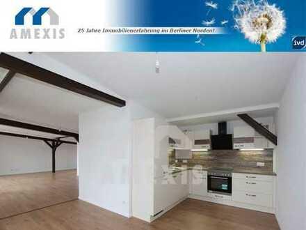 AMEXIS/ Erstbezug nach Ausbau eines Dachgeschosses IN TEGEL