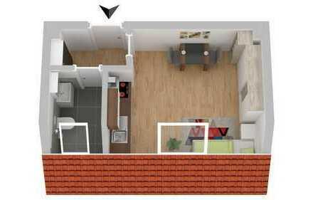 Interessante 1 Zimmerwohnung