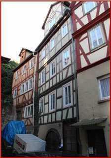 Mehrstöckiges Fachwerkhaus in gemütlicher Altstadtlage von Klingenberg