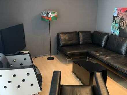 Vollständig möblierte 2,5 Zimmer Design - Wohnung mit Balkon und Einbauküche in Metzingen