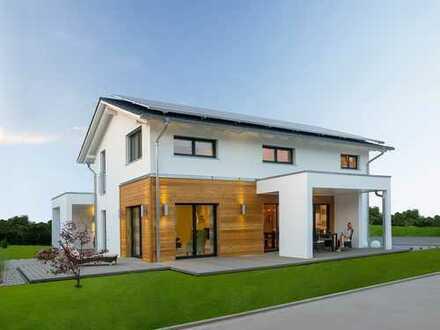 *Unser Meisterstück* Neubau Einfamilienhaus mit Garage im Keller und schöner Einbauküche