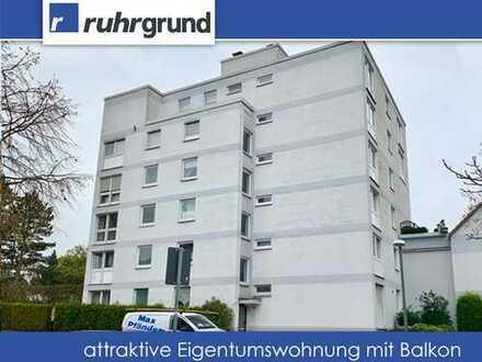 großzügige Eigentumswohnung mit Balkon und Stellplatz!