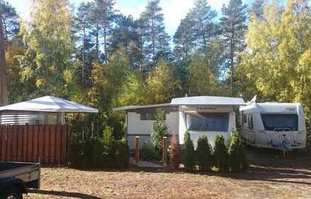 Fester Stellplatz (Parzelle) auf Campingplatz am Hölzernen See / nähe Bestensee