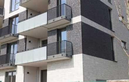 Erstbezug: Schöne, helle 3-Zimmer-Wohnung mit Süd-Loggia in Groß Borstel/Eppendorf