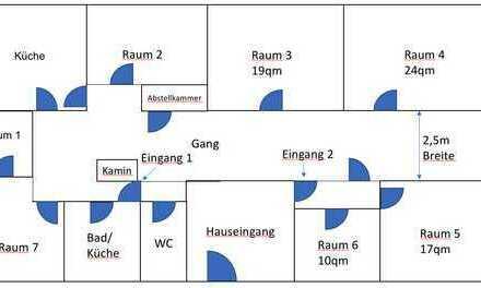 Freundliche 7-Zimmer-Wohnung mit Balkon in Seehausen am Staffelsee