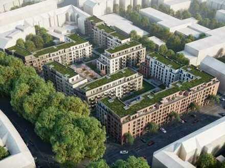 Erstbezug Neubau! Exklusive 3-Zimmer-Wohnung mit 2x Innenhof-Loggia in Düsseldorf Karolinger Höfe