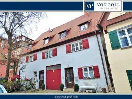 Großzügige helle und gepflegte 3-Zimmer-Wohnung in bester Altstadtlage in Nördlingen