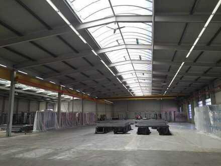TOP Lagerhalle 3200m² + Bürokopfbau 856m² nahe Berlin A10 /A2 auch Kauf möglich