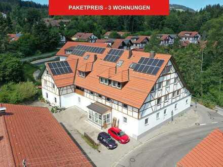 Preispaket - 3 vermietete Eigentumswohnungen bei Kempten