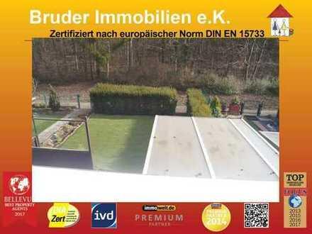 MA-Gartenstadt, Wohnen in der Grünen Lunge Mannheims, RMH, Garten u. EBK, direkt am Waldrand