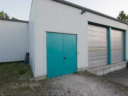 500m² Gewerbehalle mit 2 Laderampen + Büro