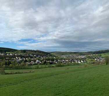 Top-Wohnung in Wilnsdorf-Ortsteil mit Ausblick