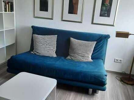 Stilvolle, vollständig renovierte 1-Zimmer-Wohnung mit Einbauküche in Erlangen